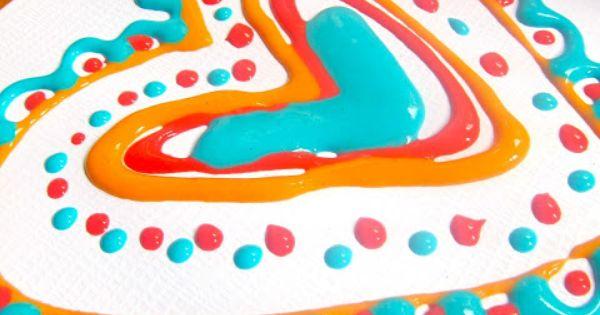 Nuestro mundo pintura esponjosa de microondas carolina - Pintura para microondas ...
