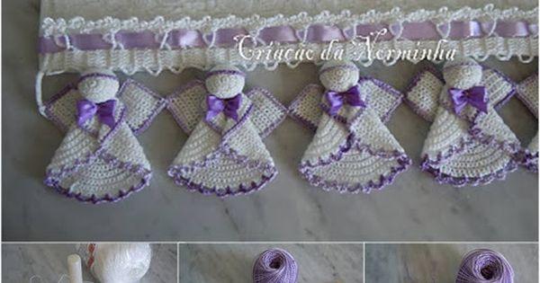 Angel Crochet Trim