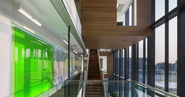 gallery of desjardins group head office abcp architecture anne carrier architectes 3. Black Bedroom Furniture Sets. Home Design Ideas
