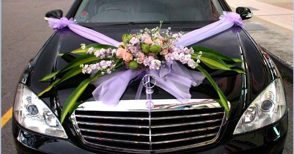 Voitures de mariage, Décorations de voiture de mariage and Voitures ...