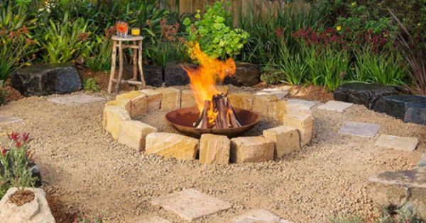 How to make a fire pit better homes and gardens yahoo Yahoo better homes and gardens