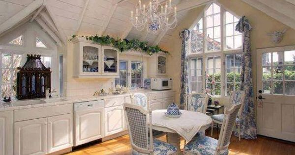 Kitchen french country window treatments pinterest country window treatments shabby and - French country kitchen window treatments ...