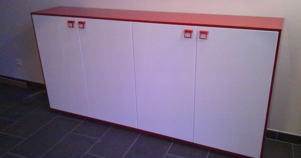 Love this narrow sideboard made out of kitchen cabinets Ikea narrow kitchen cabinet