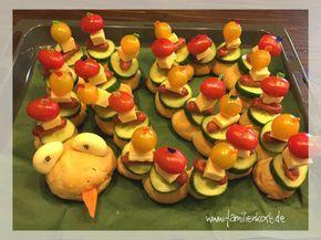 Brotchenwurm Rezept Kindergeburtstag Essen Kita