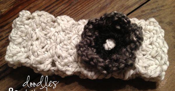 Doodles Stitches: Crochet Headband Pattern