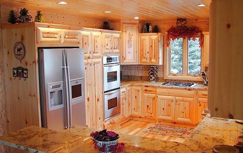 Permalink to Pine Kitchen Cabinets