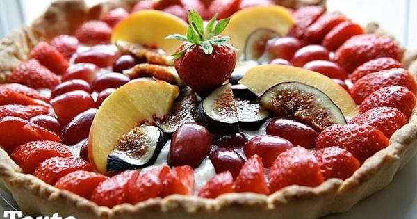 ... , winogronami. | Sweets | Pinterest | Fruit Tarts, Figs and Tarts