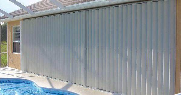 Lanai Accordion Closed Accordion Shutters Pinterest