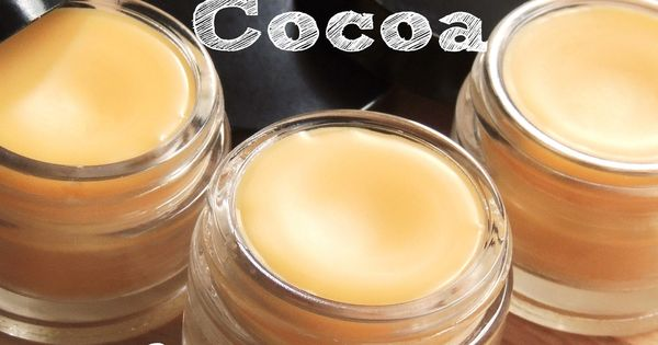 DIY Peppermint Cocoa Lip Balm by Essentially Eclectic - bees wax, coconut