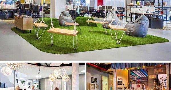 espace de travail collaboratif et salle de repos avec balan oire bois ecole pinterest. Black Bedroom Furniture Sets. Home Design Ideas