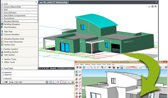 Download free cad software for view and drawing dwg files for 2d architectural drawing software free
