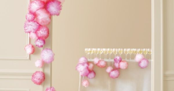 Spray-Painted Tulle Pouf - Martha Stewart Weddings Inspiration