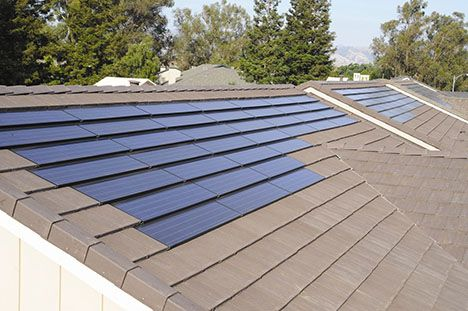Building Integrated Solar Power Tiles Now Available With Sunrun Solar As Service Program Solar Panels Best Solar Panels Solar House