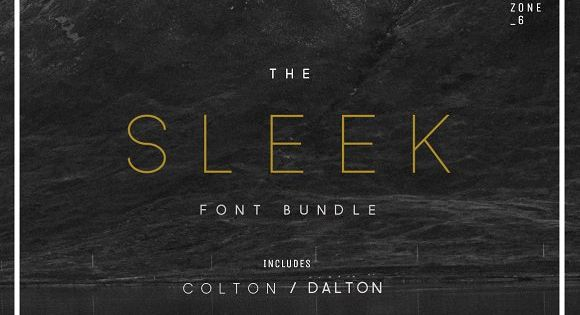 The Sleek Font Bundle Is The Perfect Duo Of Font Families For Creating Recognisable, Modern & Stylish Branding