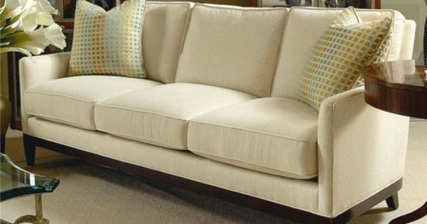 Elegance Sofa With Track Arms By Century Baer 39 S Furniture Sofa Miami Ft Lauderdale