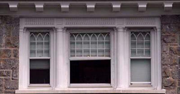 Victorian Era Windows American Houses Early American