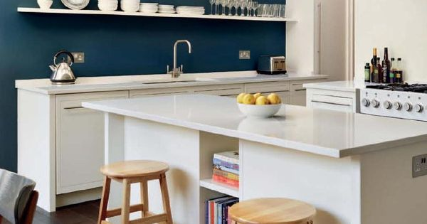 Essential kitchen bathroom bedroom white cabinets and hague blue paint pinterest hague for Essential kitchens and bathrooms