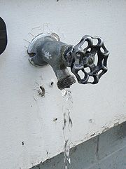 Need To Do This Dripping Outdoor Tap Replacing A Faucet Washer Outdoor Faucet Repair Diy Plumbing Faucet Repair