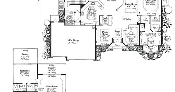 Home Floor Plans With Pictures Luxury Home Floor Plans