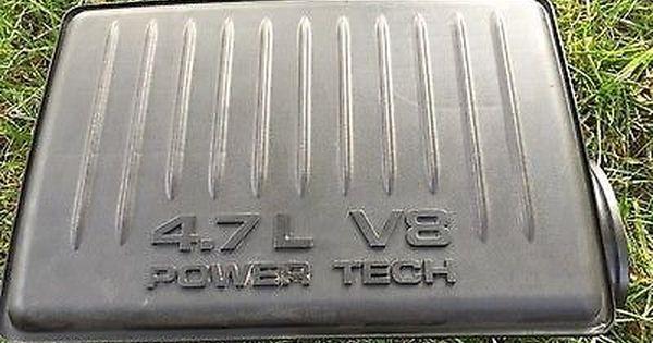 1999 2004 Jeep Grand Cherokee V8 4 7 Power Tech Air Intake Resonator Cleaner Box Jeep Grand Cherokee Jeep Air Intake Filter