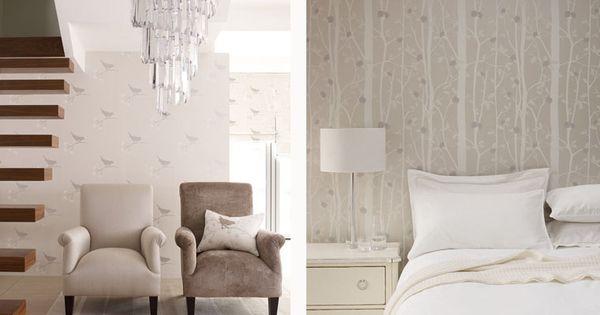 Laura Ashley Nightingale Cottonwood Wallpapers Laura