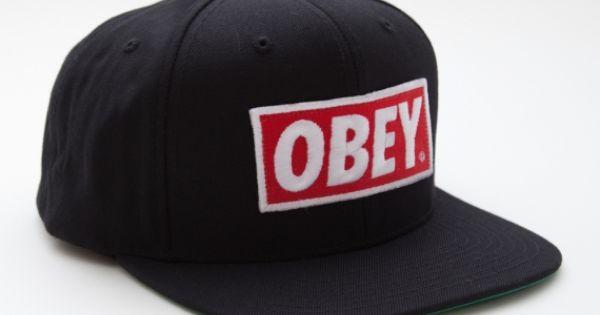 #obey OBEY CLOTHING - OBEY ORIGINAL HAT LOVEEEE