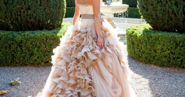 Breathtaking Napa Valley Wedding from Elle Jae Photography. wedding_dress vera_wang... Love the