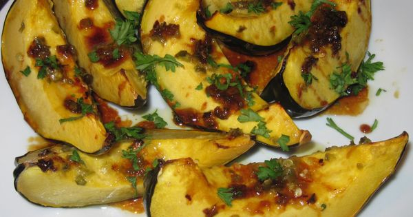 Acorn squash, Honey glaze and Glaze on Pinterest