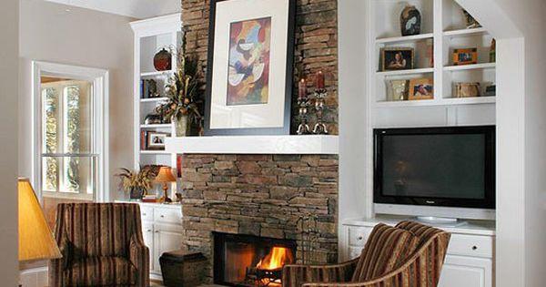 Ideas de chimeneas chimeneas de piedra decoracion de - Decoracion con chimeneas ...