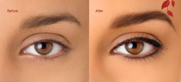 Semi Or Easy Eyebrow Tattoo Cost And Before After Photos Make Up Augen Lidstrich Permanent Make Up Lidstrich