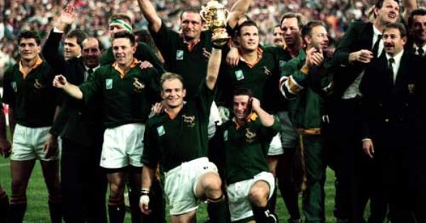 Wow Jubilation When The Springboks Won The 1995 Rugby World Cup Rugby World Cup Rugby Boys Rugby
