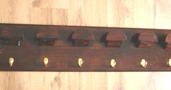 Wood Bridle Rack 6 Slots New Birdle Rack For Tack Room