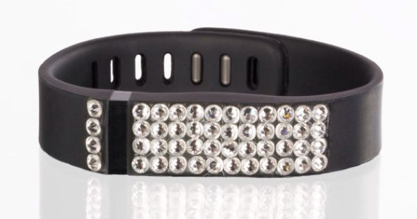 replacement band for fitbit with swarovski crystal details on etsy my style. Black Bedroom Furniture Sets. Home Design Ideas