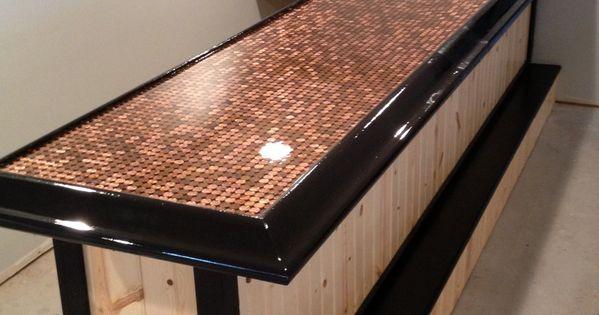 Epoxy Bar Top #epoxy #resin #coating  Epoxy Bar Tops  Pinterest  바, 싱크대 및 ...