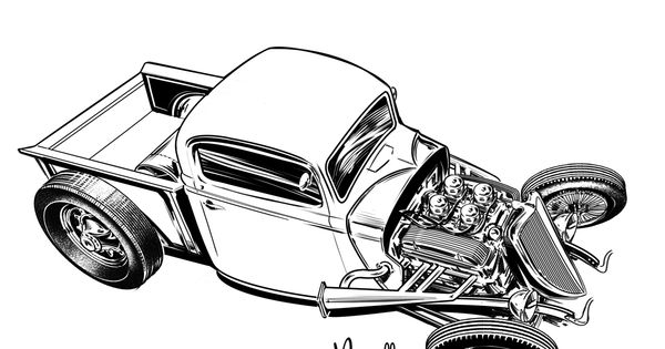 drag car renderings
