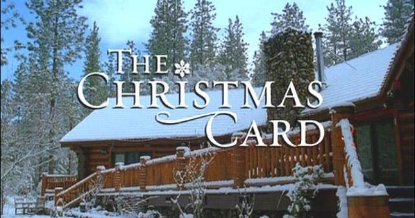 The Christmas Card - Log Cabin | Favorite Movie Houses ...