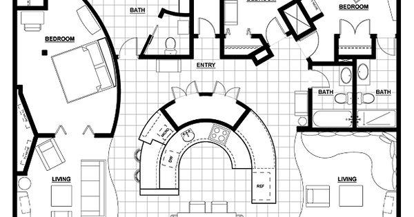 3 Bedroom Condo Floor Plans Google Search Home