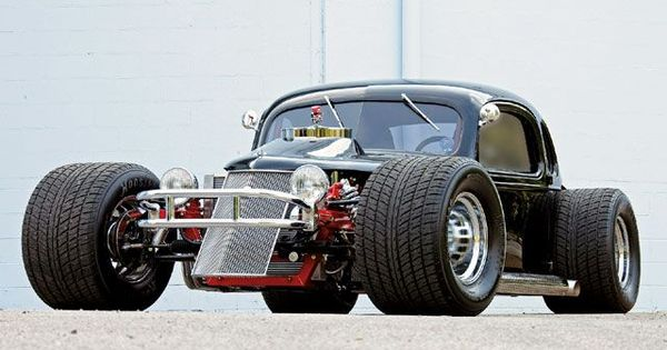 1935 Chevy dirt track hot rod