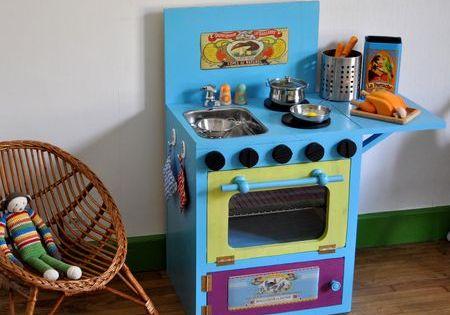 cuisiniere en bois diy bricolage pinterest bois diy en bois et diy. Black Bedroom Furniture Sets. Home Design Ideas