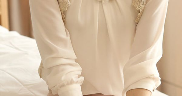 I love a beautiful blouse. Perfect to go to work and then