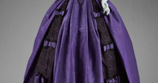 Ball Gown c. 1860s.