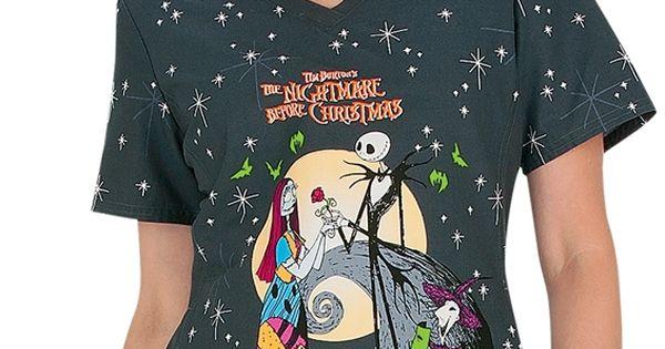 Christmas Scrub Tops Cheap