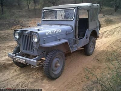 Old Mahindra Cj 3b Jeep Monster Trucks When I Was Born