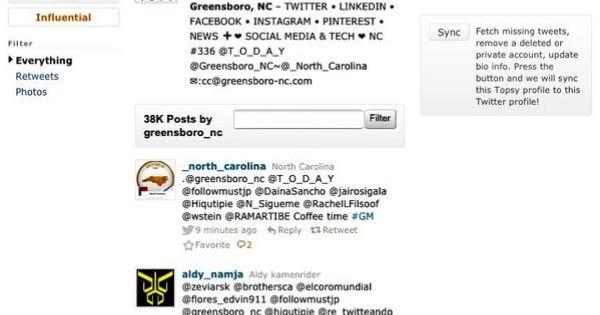 greensboronc tweeted trips