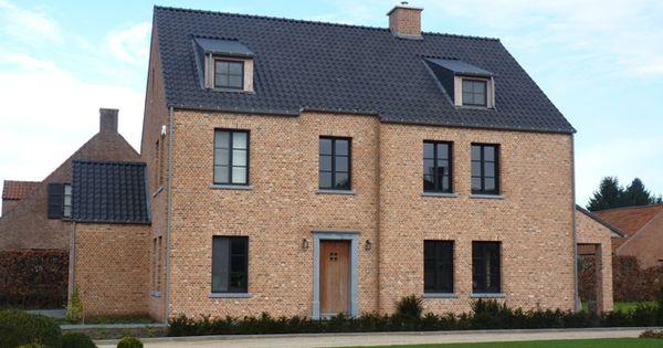 Kempische bouwmaterialen huis exterieur pinterest bouwmaterialen huizen en ramen - Decoratie exterieur gevel ...