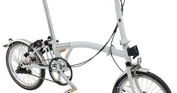 Brompton M3l Demonstrator Folding Bike 700 00 Brompton Folding Bike Brompton Bicycle