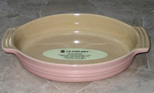 Le Creuset Stoneware 9 Inch Oval Baking Dish Pink Click For More Special Deals Homedecor Decor Homeideas Decor Baked Dishes Le Creuset Stoneware Le Creuset Le creuset oval baking dish
