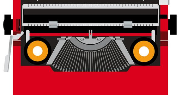Olivetti Valentine Typewriter Ettore Sottsass by rumorebianco, $18.00