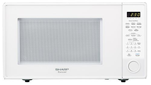 Sharp Countertop Microwave Oven Zr559yw 18 Cu Ft 1100w White With