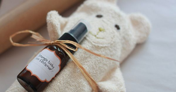 Baby Shower Gifts Essential Oils ~ Air fresheners and baby gift presentation just mix